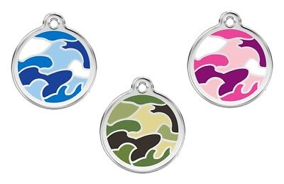 "CAMOUFLAGE Pet ID Tags Great as Dog ID tags and Cat ID tags Small 3/4""/ 20mm"
