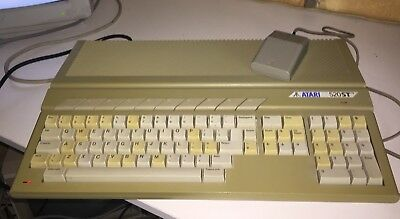 Atari 520STFM computer ST 520 Mouse and Starglider (+ Amiga switchable mouse)