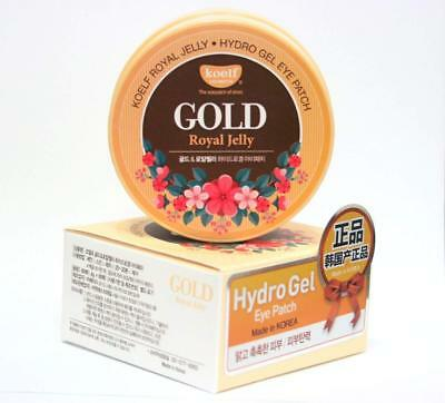 【 KOELF 】 Gold & Royal Jelly Hydro Gel Eye Patch 60pcs [ Made in Korea ]