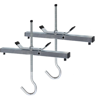 New Steel Ladder Roof Rack Clamp Clamps Lockable Abru High Quality Steel