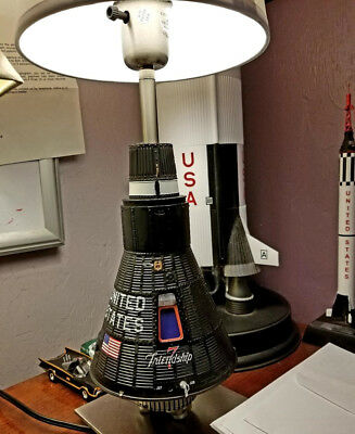 Only one known to exsist .  Mercury Capsule Lamp.1/12 scale-Bonus Item included