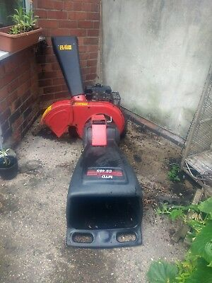 Briggs and stratton Chipper/ shredder MTD CS465 8HP