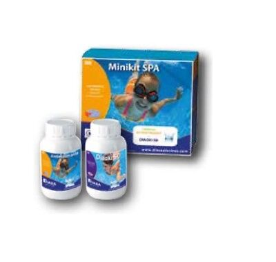 MINI KIT SPA: pack especial mantenimiento agua de spa, jacuzzi e hidromasaje