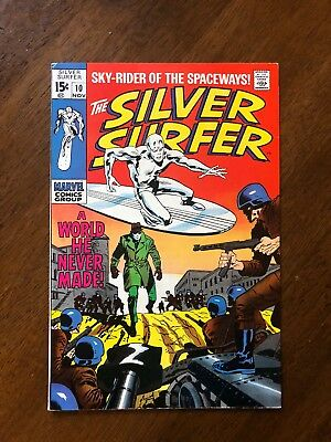 The Silver Surfer #10 (Nov 1969, Marvel) Great Condition, Low Reserve