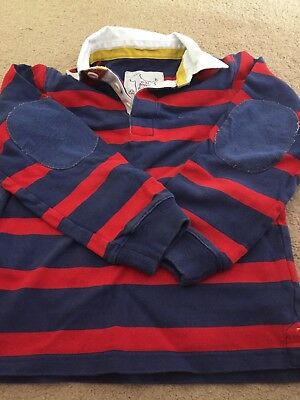 Mini Boden Rugby Shirt 7-8 Years