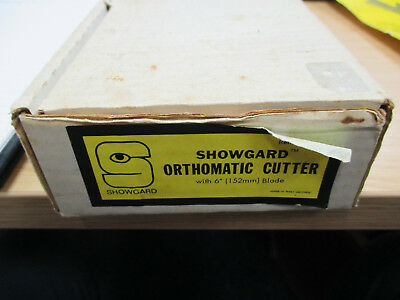 """A Pre-owned Showgard Orthomatic Cutter with 6"""" (152mm) Blade. Boxed. Instruction"""