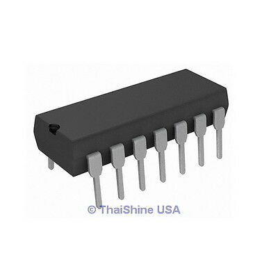 5 x CD4047 4047 IC CMOS Monostable Multivibrators - USA Seller - Free Shipping