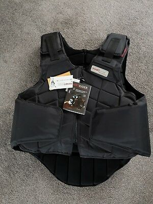 Smart Rider black Adult Large Body COMPETITION STANDARD level 3 2009 protection