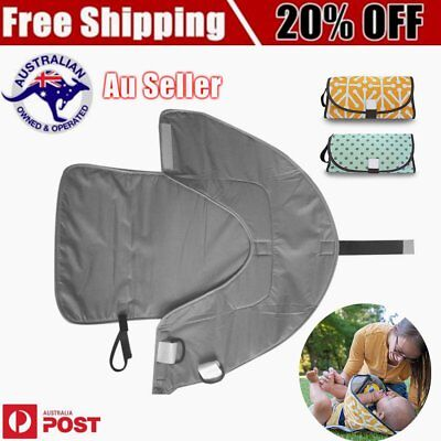 Folding  Waterproof Travel Baby Diaper Clutch Changing Pad Mat Diaper F4