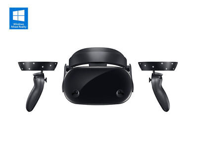 Samsung HMD Odyssey Windows Mixed Reality VR Headset w/ Controllers