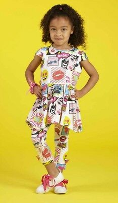 ariana dee nakita pop art outfit..leggings tunic
