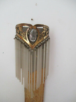 applique art deco bronze