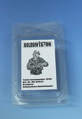 BoldDivision 1:35  BD35022 Resin Figur dt. Panzerkommandant 1946 what if