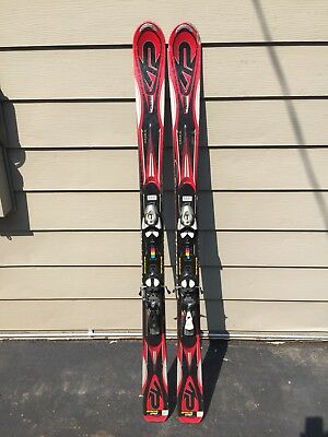K2 AMP Strike 146 cm System Skis w Salomon L10 Adjustable Demo Bindings