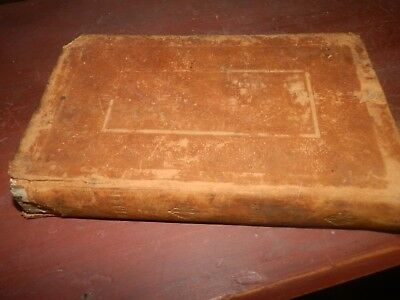 1836  Ancient History by Mr Rollin vol ll   With a Life of the Author LEATHER