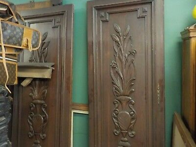 Antique 1800s Large European Carved Armoire