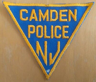 Polizeiabzeichen vom Camden Police Department in New Jersey