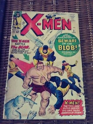 X-MEN #3 1st Appearance of THE BLOB UNGRADED