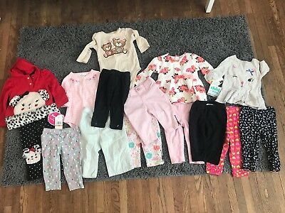 Lot Of Baby Girl 6-12 Month Clothing