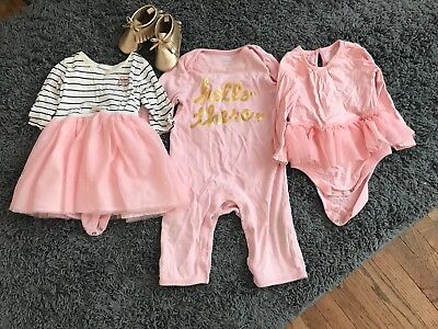 Lot Of Old Navy Baby Girl 6-12 Months