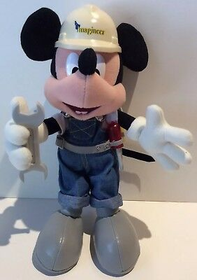 RARE Imagineer Posable Mickey Mouse Hong Kong Disneyland Grand Opening 2005