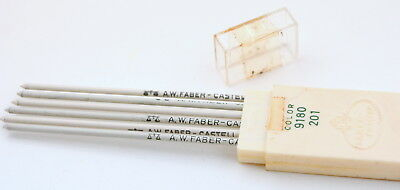 Faber Castell Minen Color 9180 201 Farbminen weiß 2 mm pencil leads white