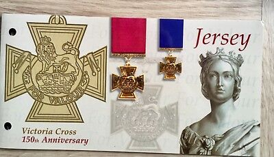 "JERSEY STAMP. "" VICTORIA CROSS. 150th.  ISSUE 2006"