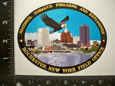 Federal ATF Rochester, NY Police Patch NYSP MCSO Gang Gun Task Force Gman