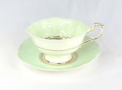 Exquisite Cup and Saucer by Paragon With Double Royal Warrant Mark