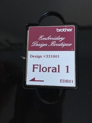 Brother Embroidery Design Boutique Memory Card