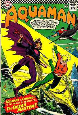 Aquaman #29 (1966) First Apperance Of Ocean Master Fine Plus (6.5) Nice