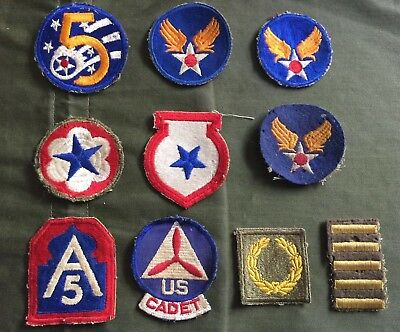 Lot Of WWII US Army Patches