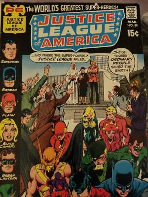 Justice League of America Issue 88 year 1971 Dc Comics