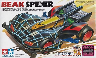 Tamiya Mini 4Wd Beak Spider - Kit Montaggio 1/32 - Item 19408