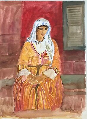 MATISSE - ORIGINAL PAINTING/ DRAWING,signed, Picasso Era,Papers, TRUE BEAUTY!!!!
