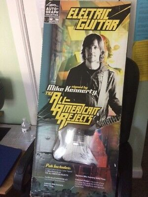All American Rejects' Mike Kennerty-signed Electric Guitar (Brand New)