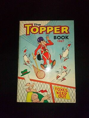The Topper 1967 Vintage Annual Comic Hardback Book Near Mint