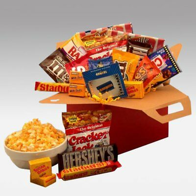 Blockbuster Night Movie Care Package with $10.00 Gift Card