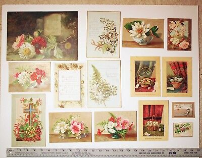 Collection of Antique Greeting Cards