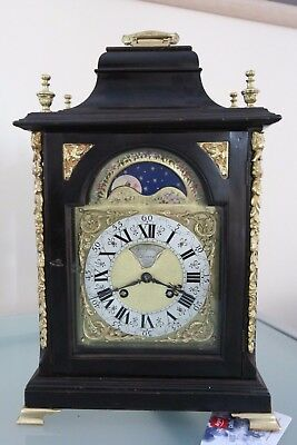 BRACKET CLOCK. JOHN JOHNSON. LONDONER ap