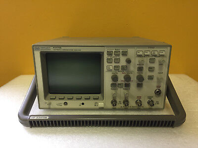 HP / Agilent 83475B-014 DC to 500 Mhz, 2 Ch, Lightwave Communications Analyzer