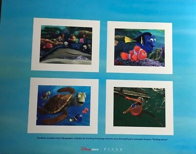 "(4) ""Finding Nemo"" lithographs (in folder)l"