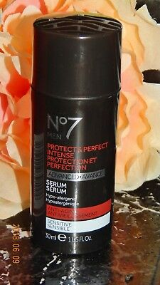Boots No7 Men Protect and Perfect Intense Serum Anti-Aging  AAA+++SALE