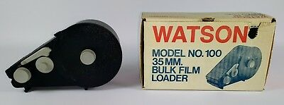Vintage Watson Model 100 35mm Bulk Film Loader in Original Box