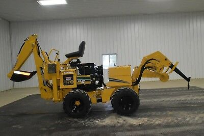2005 Vermeer LM42 Backhoe Vibratory Drop Plow Bore Attachment Ditch Witch 410sx