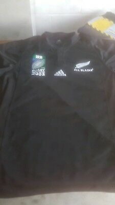 New Zealand Rugby World Cup Shirt 2003