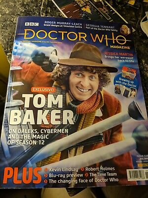 Doctor Who Magazine 526 (July 2018) mint condition