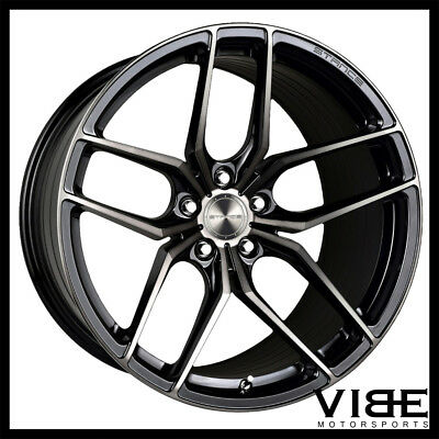 """20"""" Stance Sf03 Black Forged Concave Wheels Rims Fits Dodge Charger Hellcat"""