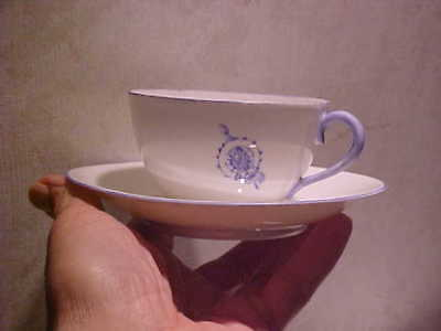 Daughters of the American Revolution Weimar Porcelain hand painted D.A.R. Cup