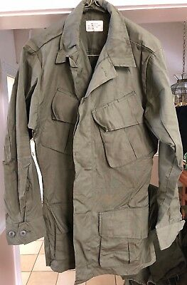 Us Army  Tropical Combat Coat Unissued Small Regular Unissued